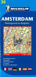 Amsterdam, Netherlands (36) by Michelin Maps and Guides