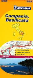 Campania and Basilicata, Italy (362) by Michelin Maps and Guides