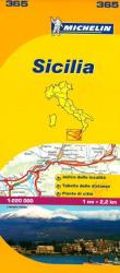 Sicily, Italy (365) by Michelin Maps and Guides