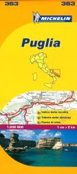 Puglia, Italy (363) by Michelin Maps and Guides