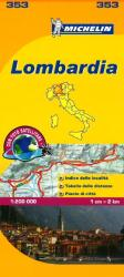 Lombardia, Italy (353) by Michelin Maps and Guides