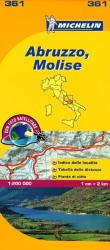 Abruzzo and Molise, Italy (361) by Michelin Maps and Guides