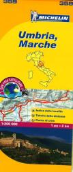 Umbria and Marche, Italy (359) by Michelin Maps and Guides