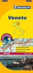 Veneto, Italy (355) by Michelin Maps and Guides