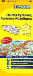 Hautes Pyrenees, Pyrenees Atlantique, France (342) by Michelin Maps and Guides