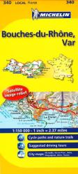 Bouches Du Rhone, Var (340) by Michelin Maps and Guides