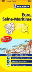 Eure, Seine Maritime (304) by Michelin Maps and Guides