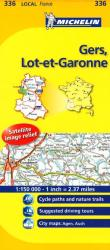 Gers, Lot Et Garonne (336) by Michelin Maps and Guides