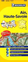 Ain, Haute Savoie (328) by Michelin Maps and Guides