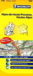 Alpes De Haute Provence (334) by Michelin Maps and Guides