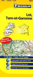 Lot, Tarn Et Garonne (337) by Michelin Maps and Guides