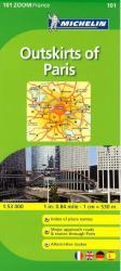 Paris, Outskirts Of Paris, Zoom Map (101) by Michelin Maps and Guides
