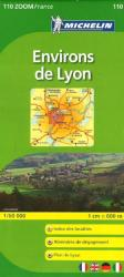 Lyon, Environs De Lyon, Zoom Map (110) by Michelin Maps and Guides