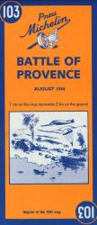Battle Of Provence (103) by Michelin Maps and Guides