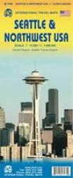Seattle & Northwest USA Travel Map by International Travel Maps