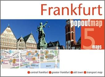 Frankfurt, Germany, PopOut Map by PopOut Products