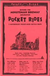 Beyond the Minuteman Bikeway : Arlington, Massachusetts, Lam Map Cards by Rubel BikeMaps