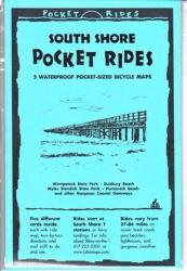 Massachusetts, South Shore, Lam Bike Map Cards by Rubel BikeMaps