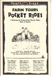 Boston, Western, Farm Tours, Lam Map Cards by Rubel BikeMaps