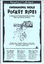 Boston, West/North, Swimming Holes, Lam Biking Map Cards by Rubel BikeMaps