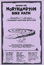 Beyond the Northampton Bike Path, Lam Biking Map Cards by Rubel BikeMaps