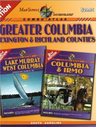Greater Columbia, Lexington, and Richland Counties Atlas by Map Supply, Inc.