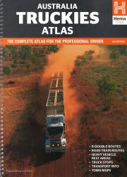 Australia Truckies Atlas, 6th edition by Hema Maps