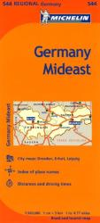 Germany, Mideast (544) by Michelin Maps and Guides