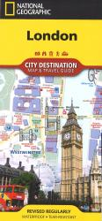 London, United Kingdom DestinationMap by National Geographic Maps