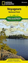 Voyageurs National Park by National Geographic Maps