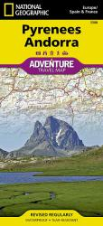 Pyrenees and Andorra Adventure Map 3308 by National Geographic Maps