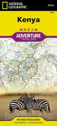 Kenya Adventure Map 3205 by National Geographic Maps