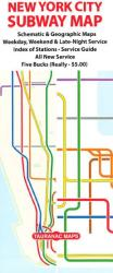 New York City Subway Map by Tauranac Press