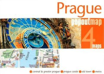 Prague, Czech Republic, PopOut Map by PopOut Products