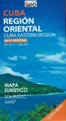 Cuba, Eastern Region, Tourist Map (bilingual) by Ediciones GEO