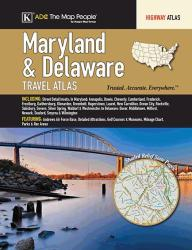 Maryland & Delaware Travel Atlas by Kappa Map Group