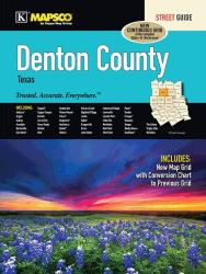 Denton County, Texas, Street Guide by Kappa Map Group