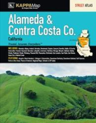 Alameda & Contra Costa Counties, CA, Street Atlas by Kappa Map Group