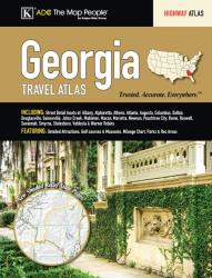 Georgia Travel Atlas by Kappa Map Group