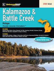Kalamazoo and Battle Creek, MI, Street Atlas by Kappa Map Group