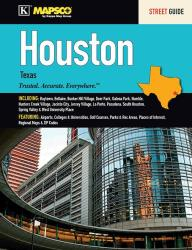 Houston, Texas, Street Guide by Kappa Map Group
