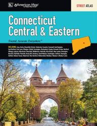 Connecticut, Central and Eastern, Street Atlas by Kappa Map Group