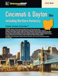 Cincinnati & Dayton, OH, with N Kentucky, Street Atlas by Kappa Map Group