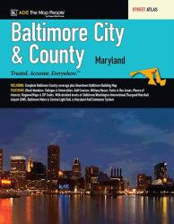 Baltimore, City & County, MD, Street Atlas by Kappa Map Group