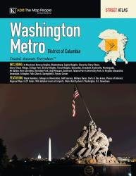 Washington, DC, Metro Street Atlas by Kappa Map Group