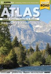 North America, Deluxe Road Atlas by Kappa Map Group