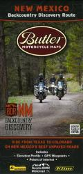 New Mexico Backcountry Discovery Route by Butler Motorcycle Maps