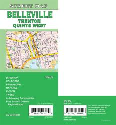 Belleville / Trenton / Quinte West, Ontario Street Map by GM Johnson