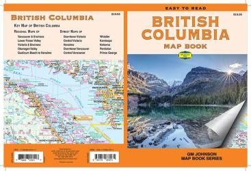 British Columbia, Canada Map Book by GM Johnson