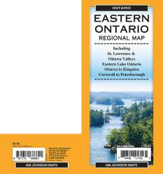 Eastern Ontario, Ontario Regional Map by GM Johnson